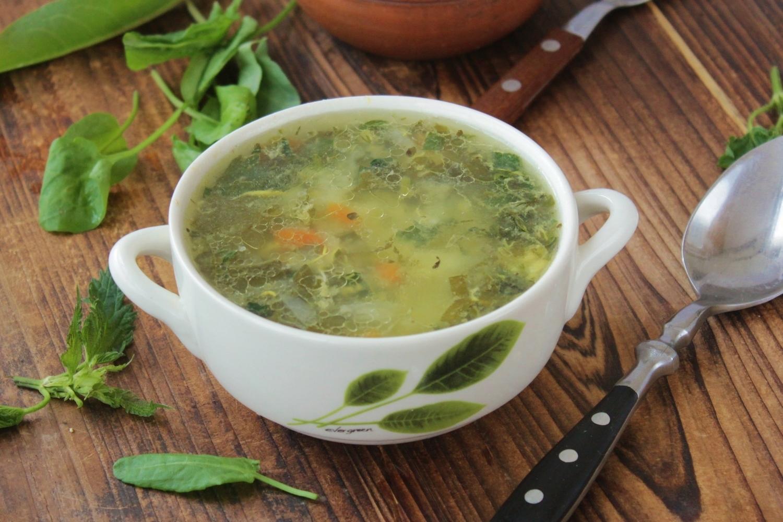 Щавелевый суп с яйцом классический рецепт с фото пошагово 19