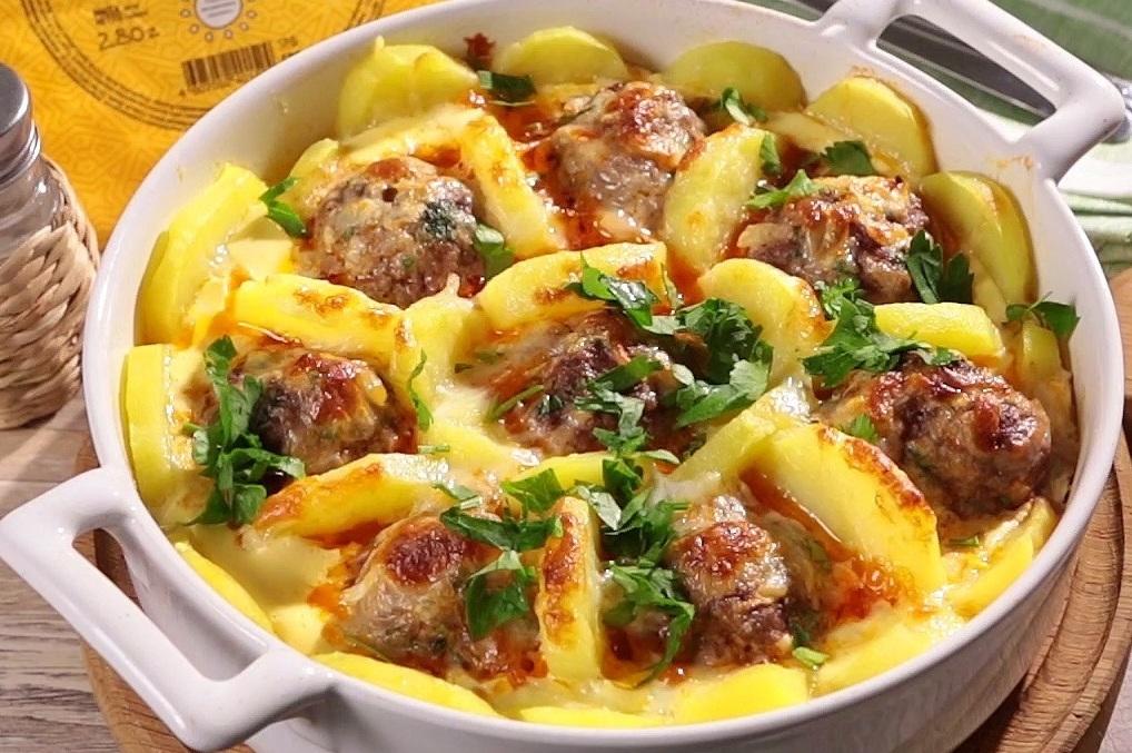 фото рецепты блюд из фарша и картошки такую погоду
