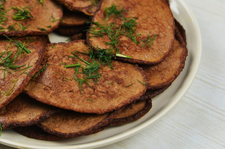 Печеночные оладушки рецепт с фото