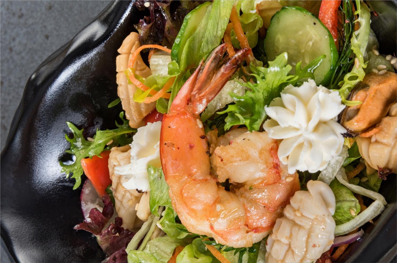лучшие салаты из морепродуктов рецепты с фото простейший тип
