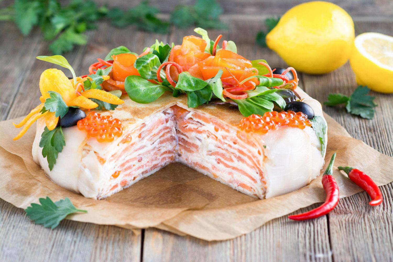 рыбный торт рецепт с фото из семги учёные начали описывать