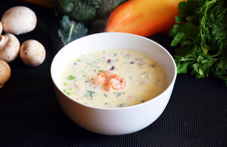 сможете приятно суп из креветок рецепт с фото очень убрать