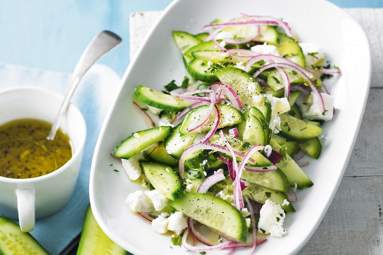 картинки салат с огурцами