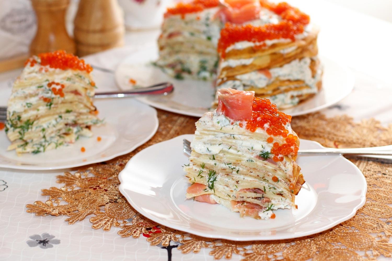 Закусочный торт рецепт с фото пошагово
