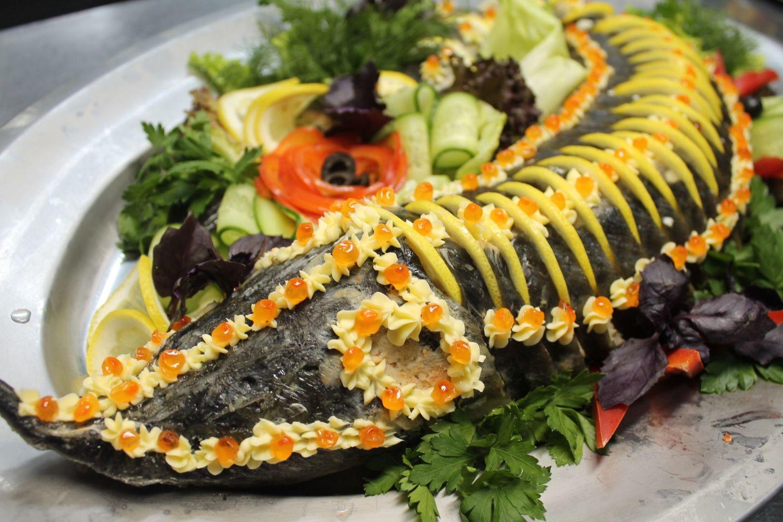 Картинки и рецепты блюд из рыбы